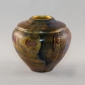 Painted Maple Hollow Form