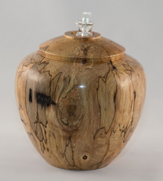 Spalted Maple Hollow Form