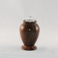 Walnut Oil Lamp